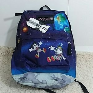 cc1d964d247 JAN SPORT DISNEY Bags - JANSPORT DISNEY Mickey Minnie Space Walk Backpack